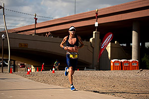 05:51:38 - #34 Paul Amey [GBR] (2nd, eventual 2nd place in 08:01:29) in  Lap 1 - Ironman Arizona 2011