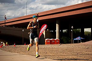 06:01:02 - #54 Sebastian Kienle [DEU] (5th, eventual 6th place in 08:19:29) in Lap 1 - Ironman Arizona 2011
