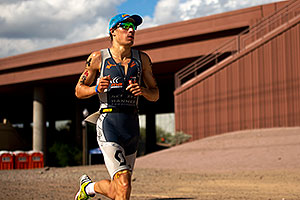 06:01:03 - #54 Sebastian Kienle [DEU] (5th, eventual 6th place in 08:19:29) in Lap 1 - Ironman Arizona 2011