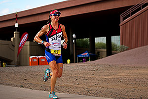 06:49:55 - #86 Charisa Wernick [USA] (eventually 10th at 09:22:37) - Ironman Arizona 2011
