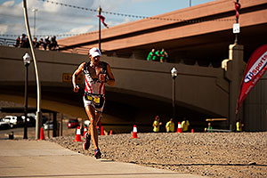 06:59:56 - #2 Viktor Zyemtsev [UKR] (best run time by 2 minutes in 2:43:31, eventually 3rd by 14:58min) - Ironman Arizona 2011