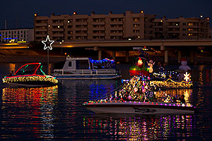 Boat #28 before APS Fantasy of Lights Boat Parade