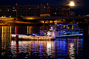 Boat #16 before APS Fantasy of Lights Boat Parade