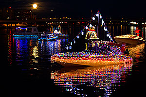 Boat #44 before APS Fantasy of Lights Boat Parade