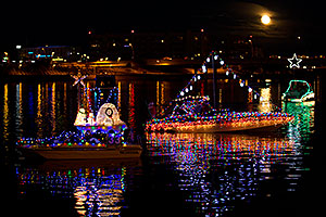 Boat #33 before APS Fantasy of Lights Boat Parade