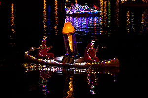 Boat #01 before APS Fantasy of Lights Boat Parade