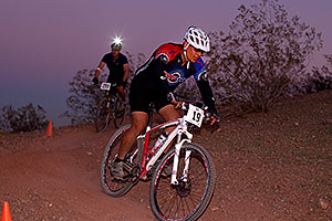 10:45:48 #19 [33rd, 13 laps, 11:15:56] biking at night at 12 Hours of Papago 2012 …