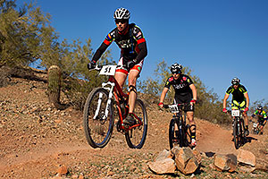 03:37:46 #51 [35th, 11 laps, 07:16:42], #203, #222 biking at 12 Hours of Papago 2012 …