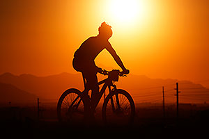 10:12:14 #235 mountain biking at sunset at 12 Hours of Papago 2012 …