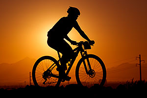 10:17:29 #420 mountain biking at sunset at 12 Hours of Papago 2012 …