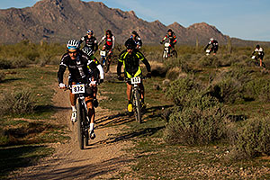 00:03:45 Marathoners biking at McDowell Meltdown MBAA 2012 …
