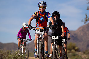 Mountain biking kids at McDowell Meltdown MBAA 2012 …