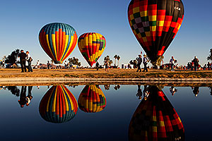 Balloon Fest in Lake Havasu City, Arizona