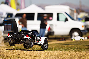 RC cars at Havasu Balloon Fest