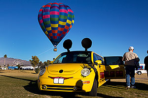 VW stretch limo at Havasu Balloon Fest