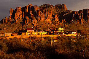 Goldfield Ghost Town in Superstitions, Arizona