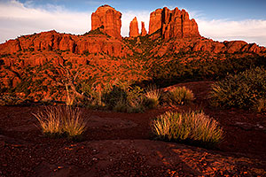 View of Cathedral Rock in Sedona