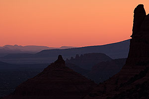 Sunset at Schnebly Hill Road in Sedona