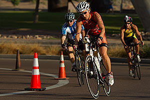 01:12:52 Cycling at Nathan Triathlon