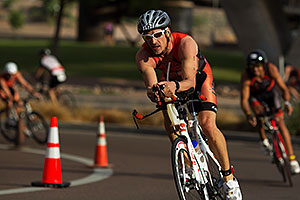 01:34:58 Cycling at Nathan Triathlon