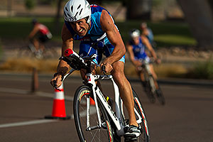 01:35:47 Cycling at Nathan Triathlon
