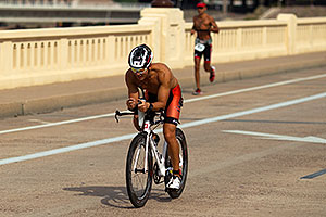 02:49:40 Running at Nathan Triathlon