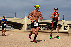 03:22:52 Running at Nathan Triathlon