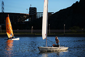 Sailboats in Tempe, Arizona