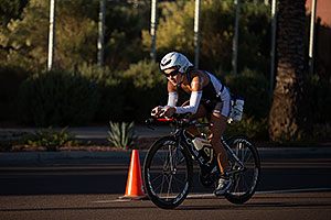 01:12:03 - #87 Erin Young [USA, 20th] cycling at Ironman Arizona 2012