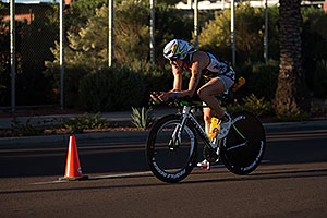 01:12:57 - #84 Charisa Wernick [USA, 9th] cycling at Ironman Arizona 2012