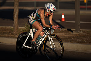 01:14:42 - #79 Beth Shutt [USA, 15th] cycling at Ironman Arizona 2012