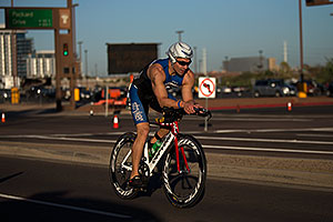 01:16:47 - cycling at Ironman Arizona 2012