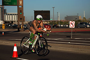 01:16:54 - #93 Trish Deim [USA, 16th] cycling at Ironman Arizona 2012