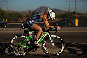01:18:15 - #80 Kim Schwabenbauer [USA, 10th] cycling at Ironman Arizona 2012