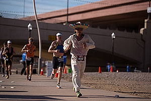 07:58:35 - #456 Sombrero running at Ironman Arizona 2012