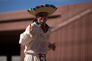 07:58:38 - #456 Sombrero running at Ironman Arizona 2012