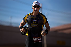 07:59:50 - #1617 US Army running at Ironman Arizona 2012