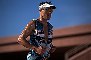 08:14:30 - running at Ironman Arizona 2012