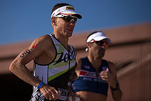 08:24:07 - #55 Jozsef Major [USA, 20th] running at Ironman Arizona 2012