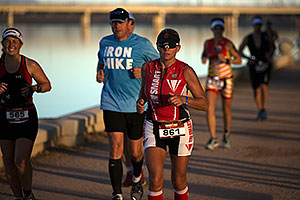 10:01:24 - running at Ironman Arizona 2012