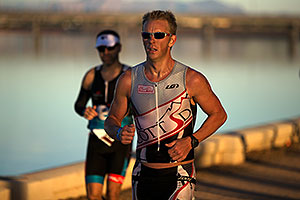 10:07:40 - running at Ironman Arizona 2012