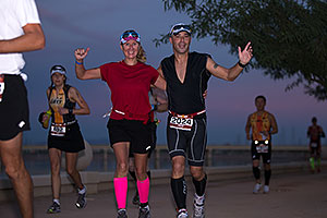 10:43:57 - running at Ironman Arizona 2012