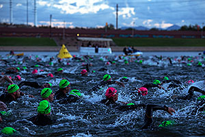 00:03:53 - swimming at Ironman Arizona 2012