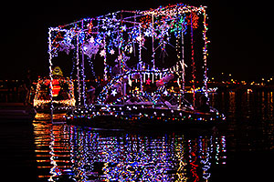 Boat #20 at APS Fantasy of Lights Boat Parade