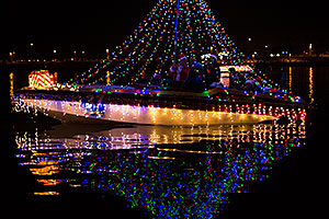 Boat #37 at APS Fantasy of Lights Boat Parade