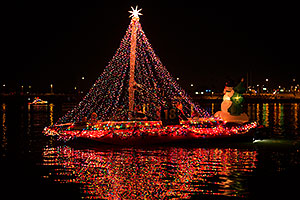 Boat #18 at APS Fantasy of Lights Boat Parade