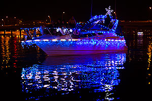 Boat #45 at APS Fantasy of Lights Boat Parade