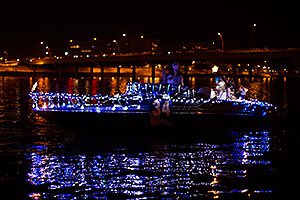 Boat #34 at APS Fantasy of Lights Boat Parade