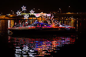 Boat #51 at APS Fantasy of Lights Boat Parade
