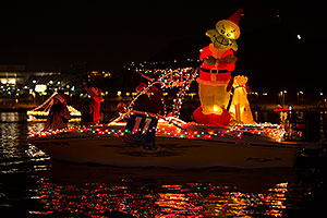 Boat #11 at APS Fantasy of Lights Boat Parade